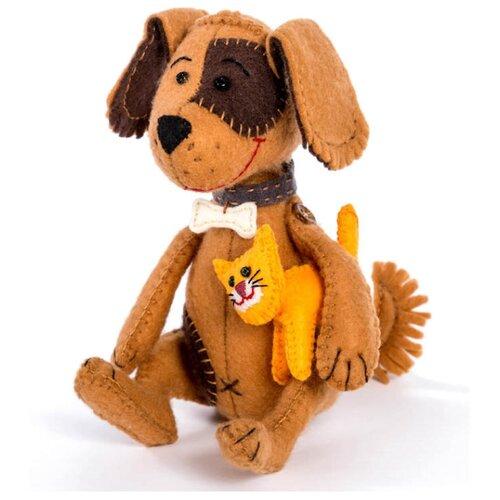 Купить Перловка Набор для шитья игрушек Гав и Мяу (ПФЗД-1009), Изготовление кукол и игрушек