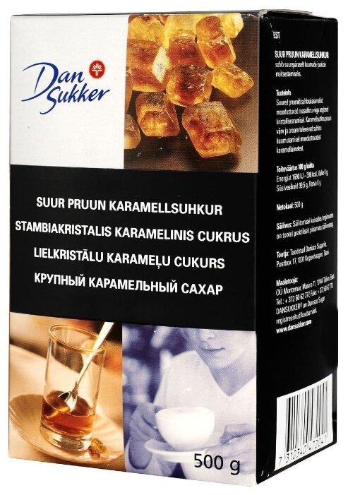 Сахар Dansukker карамельный крупный