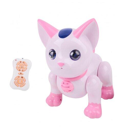 Фото - Робот Zhorya Умный питомец Кот ZYA-A2744-2 розовый радиоуправляемый робот zhorya интерактивный белый кот 2059