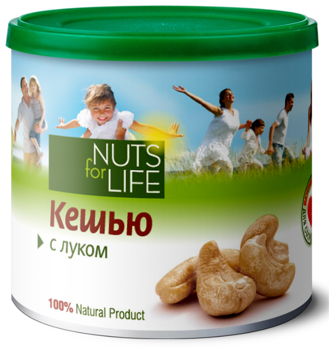 Кешью с луком - Nuts for life