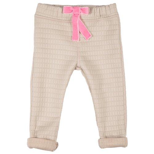 Брюки Viva Baby D6515-6 размер 98, бежевый брюки v baby размер 98 черный