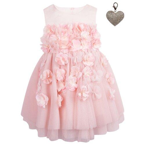 Платье Lapin House размер 86, розовый
