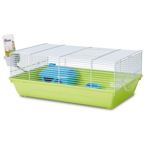 Клетка для грызунов SAVIC Stuart A5326 46.5х29.5х19 см зеленый/белый