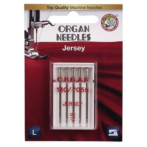 Игла/иглы Organ Jersey 90 серебристый