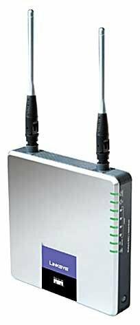Wi-Fi роутер Linksys WAG300N