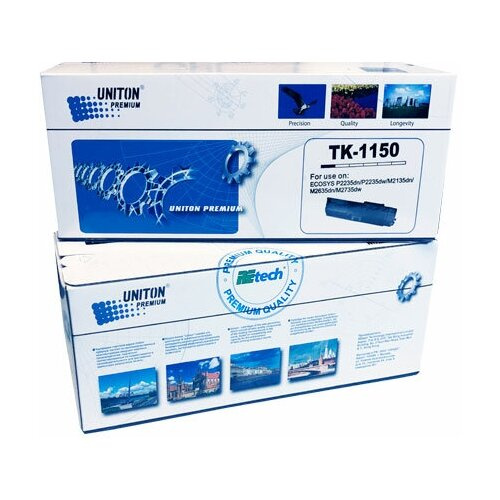 Тонер-картридж для (TK-1150) KYOCERA P2235DN/P2235DW/M2135DN/M2635DN/M2735DW (3K,TOMOEGAWA) UNITON Premium