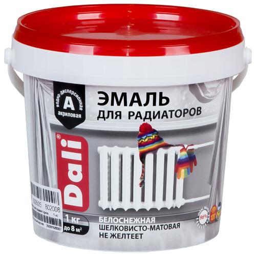 Эмаль акриловая (АК) DALI для радиаторов 802008 белый