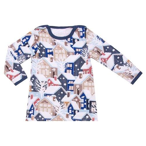 Купить Лонгслив Апрель размер 92-54, темно-синий, Футболки и рубашки