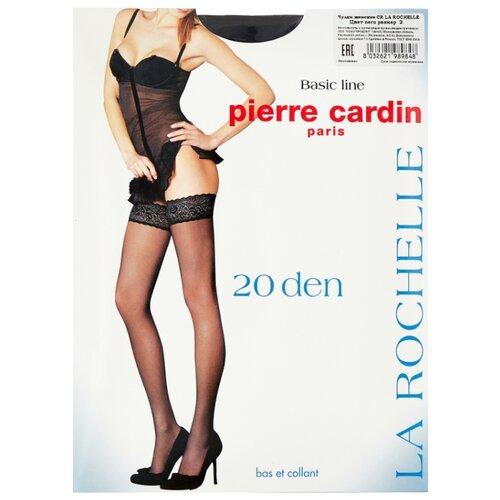 Чулки Pierre Cardin La Rochelle, Basic Line 20 den, размер II-S, nero (черный) чулки pierre cardin la rochelle basic line 20 den размер iv l nero