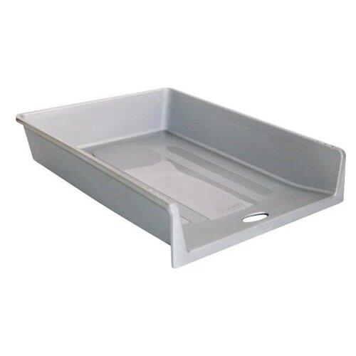 Купить Лоток горизонтальный для бумаги СТАММ ЛТ151/ЛТ152 серый, Лотки для бумаги