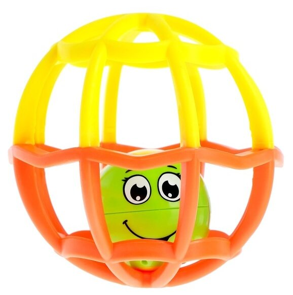 Развивающая игрушка Азбукварик Музыкальный мячик Хохотуша