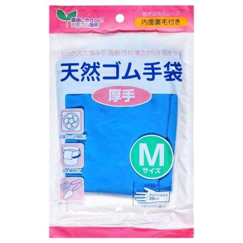 Перчатки CAN DO хозяйственные толстые, 1 пара, размер M, цвет синий