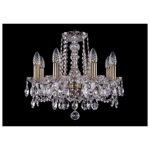 Люстра Bohemia Ivele Crystal 1402 1402/8/141/Pa, E14, 320 Вт люстра bohemia ivele crystal 1402 1402 3 141 pa