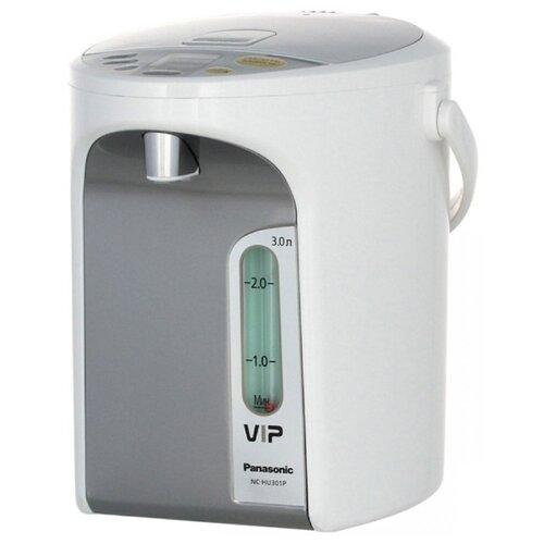 Термопот Panasonic NC-HU301, нержавеющая сталь/белый термопот panasonic nc eg4000wts