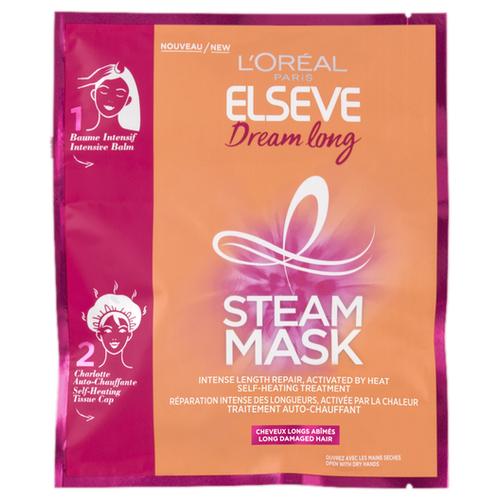 L'Oreal Paris Elseve Паровая маска Длина мечты для длинных и поврежденных волос, 38 мл набор маска для лица магия глины маска для волос elseve l oreal paris