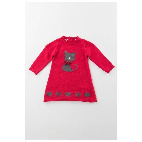 Платье Sarabanda размер 86, красный платье oodji ultra цвет красный белый 14001071 13 46148 4512s размер xs 42 170