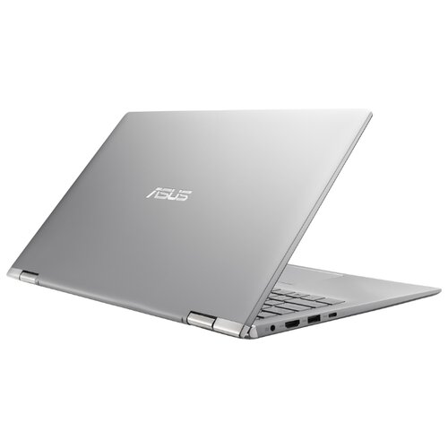 Купить Ноутбук ASUS ZenBook Flip 14 UM462DA-AI029T (AMD Ryzen 7 3700U 2300MHz/14 /1920x1080/8GB/512GB SSD/DVD нет/AMD Radeon RX Vega 10/Wi-Fi/Bluetooth/Windows 10 Home) 90NB0MK1-M02790 light grey