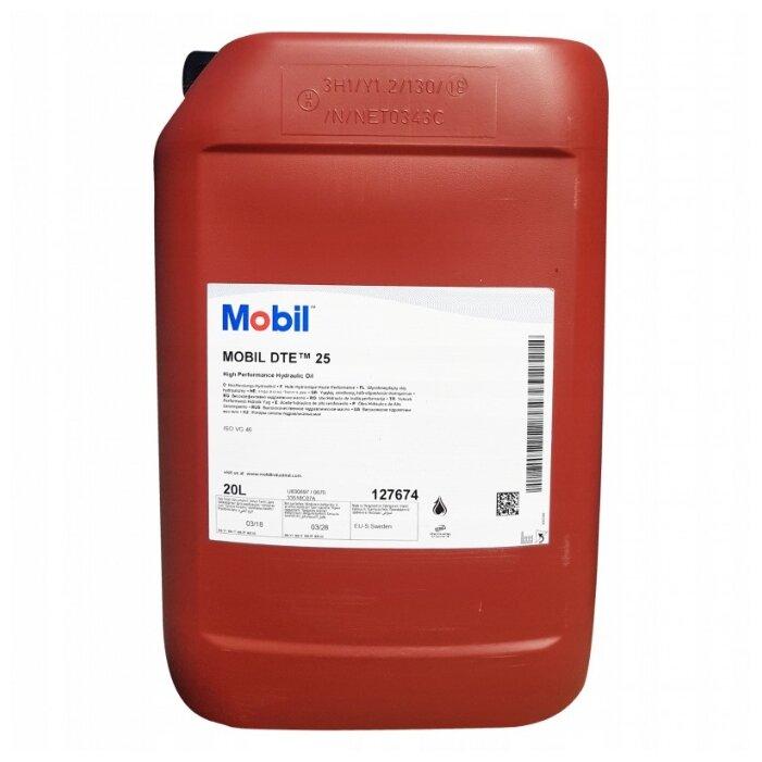 Масло гидравлическое Mobil DTE 25 мин. (20л) 127674