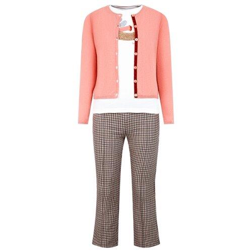 Купить Комплект одежды Il Gufo размер 128, розовый/кремовый/бежевый, Комплекты и форма
