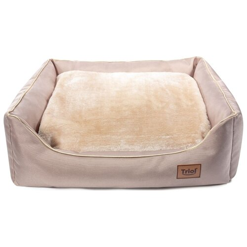 Лежак для кошек Triol Сахара S прямоугольный 42х33х15 см бежевый
