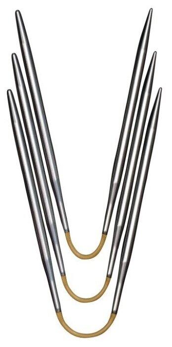 Спицы ADDI гибкие CraSyTrio Short, супергладкие 160-2 диаметр 3 мм, длина 21 см