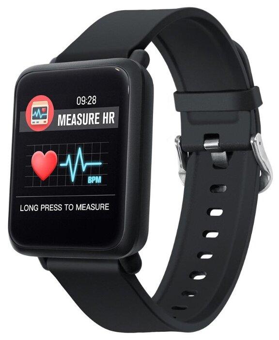 Купить Умные часы ColMi M28 черный по низкой цене с доставкой из Яндекс.Маркета (бывший Беру)