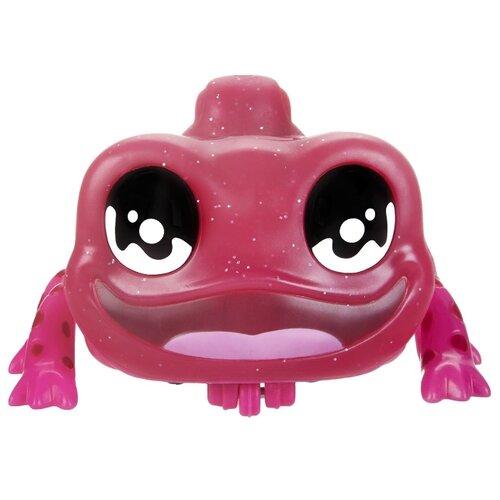 Интерактивная игрушка робот Hasbro Yellies Ящерица Lizabelle E6148 розовый