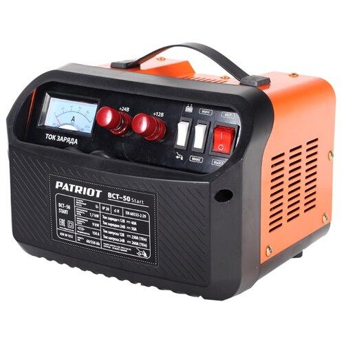 Пуско-зарядное устройство PATRIOT BCT-50 Start черный/оранжевый patriot bct 50 start