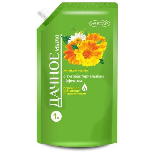 Жидкое мыло Дачное Vestar с антибактериальным эффектом, 1 л  - Купить