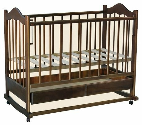 Кроватка РИО Кира (качалка)