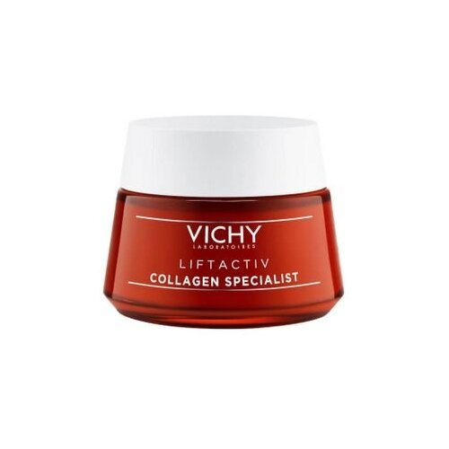 Vichy Liftactiv Collagen Specialist крем для лица с коллагеном, 50 мл маска для лица vichy vichy vi055lwffkv5