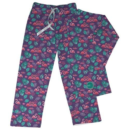 Фото - Пижама Marengo Textile размер 128, фиолетовый/розовый/зеленый пижама marengo textile размер 128 зеленый белый розовый