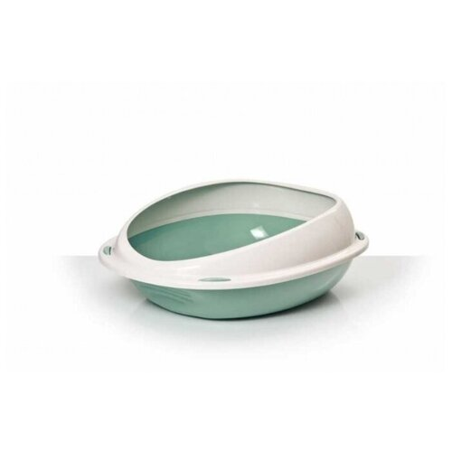 Туалет-лоток для кошек Lilli Pet 20-5380 45х36х15 см зеленый
