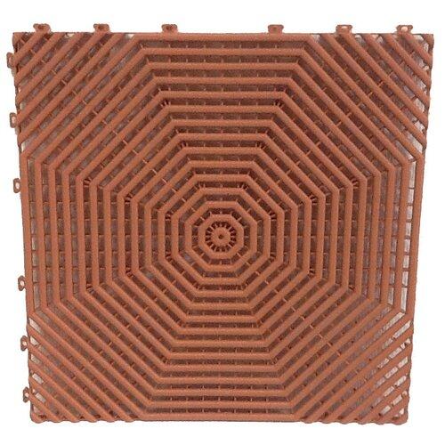 Покрытие модульное Helex HL 40x40 см, терракотовый
