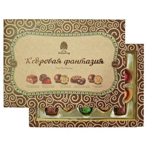 Набор конфет Сибирский кедр Кедровая фантазия 210 г