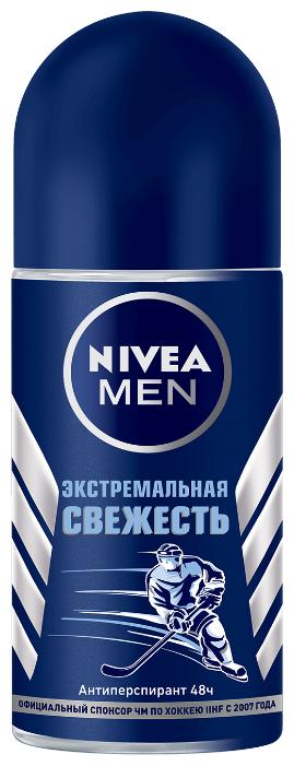 Антиперспирант ролик Nivea Men Экстремальная свежесть