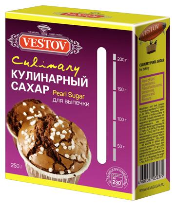 Сахар Vestov кулинарный термостабильный жемчужный