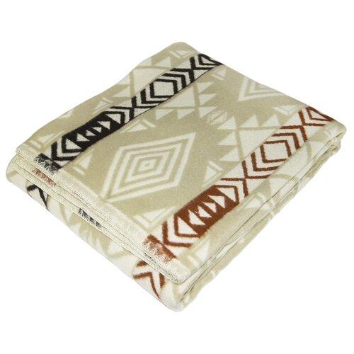 цена Одеяло ARLONI Мехико хлопковый, всесезонное, 140 х 205 см (бежевый/коричневый) онлайн в 2017 году