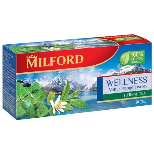 Чай зеленый Milford Wellness в пакетиках, 20 шт. чай зеленый milford wellness в пакетиках 20 шт