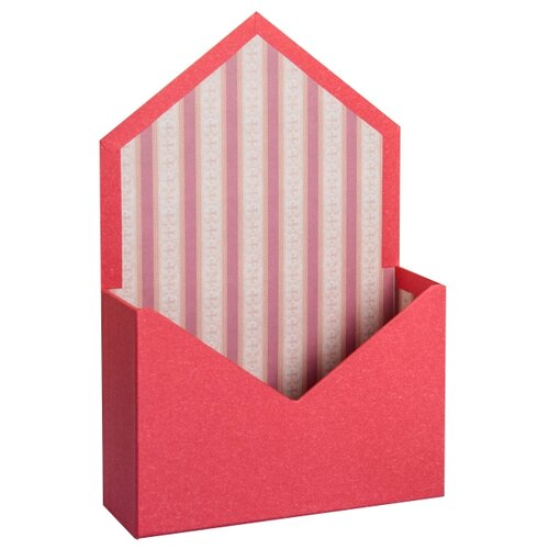 Коробка подарочная Yiwu Zhousima Crafts для цветов 20 х 13 х 17 см 2676827 красный