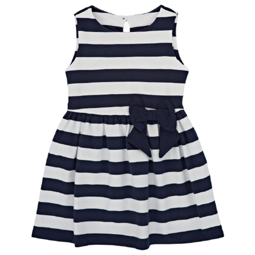Купить Платье Mini Maxi размер 92, белый/синий, Платья и юбки