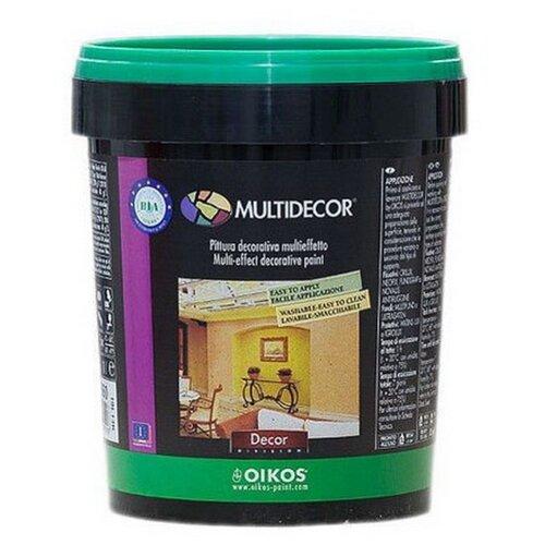 Краска акриловая Oikos Multidecor перламутровая моющаяся ES710 1 л краска акриловая oikos multidecor перламутровая моющаяся es710 1 л