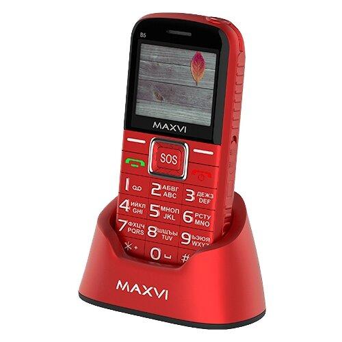 Купить Телефон MAXVI B5 красный