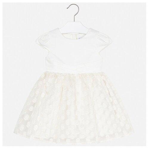 Купить Платье Mayoral размер 104, кремовый, Платья и сарафаны
