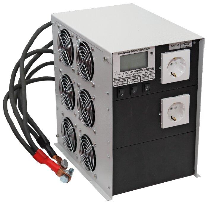 Инвертор СибКонтакт ИС1-24-6000 DC-AC