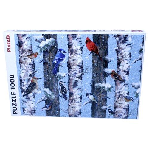 Купить Пазл Рождественские птицы, 1000 деталей, Piatnik, Пазлы