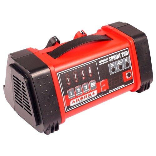 Зарядное устройство Aurora Sprint-20D черный/красный зарядное