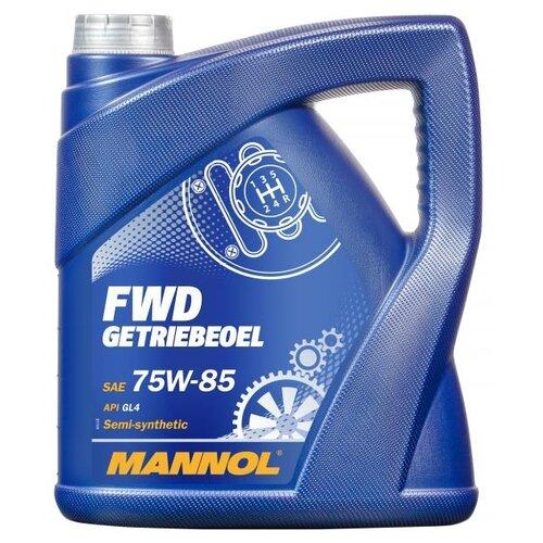 Трансмиссионное масло Mannol FWD Getriebeoel 75W-85 4 л свитшот fwd lab fwd lab mp002xw1h3u0