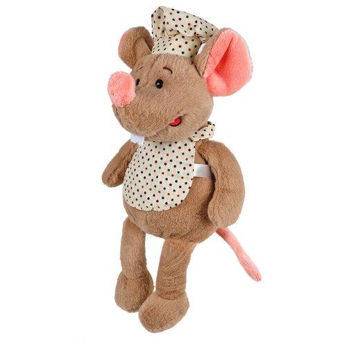 цена на Мягкая игрушка Fluffy Family Мышь Поваренок 23 см