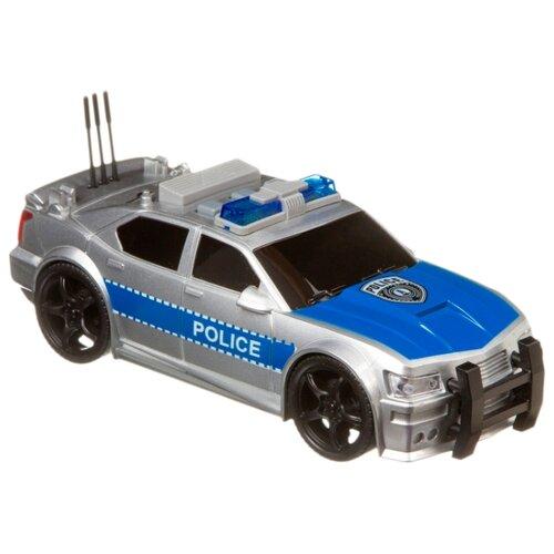 Купить Легковой автомобиль BONDIBON Парк техники Police (ВВ4070) 19 см серый/синий, Машинки и техника